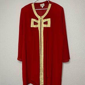 Vintage Royal Sheer Overcoat sz3x